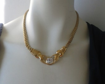 Choker necklace from late 70s.  Mother's Day gift