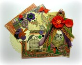 Graphic 45 Rare Oddities Halloween Inspiration Kit Embellishment Kit for Scrapbook Layouts Cards Mini Albums Tags and Paper-crafts 2