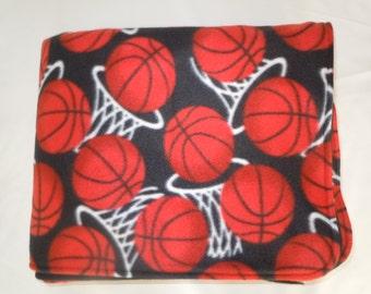 Basketball Fleece Blanket - Extra Large