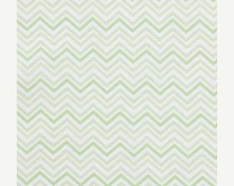 Decorative Chevron - Green - Small Chevron - BTY