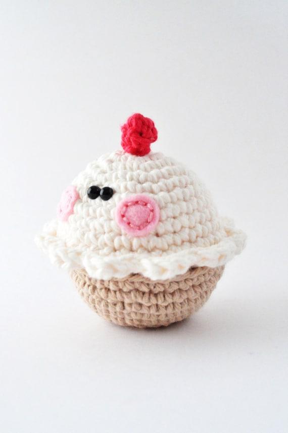 Amigurumi Staggered Increases : Crochet Cupcake Pattern, Amigurumi Pattern, Amigurumi ...