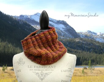 Hand Knit Ladies Cowl - Mexicali - Women's Handmade Accessories