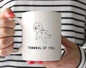Voodoo Doll 'Thinking of you' Mug