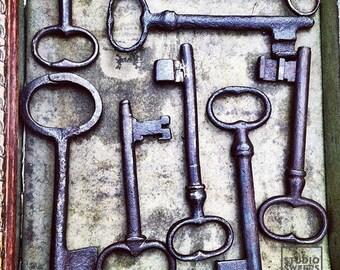 Key Find // 5x5 Travel Photography // Flea Market Print