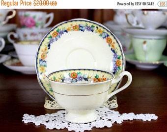 Royal Albert Teacup, Tea Cup and Saucer, English Bone China, Vintage Cups 12261
