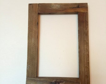 Rustic Lobster Trap Wood Picture Frame, Rustic Frame.