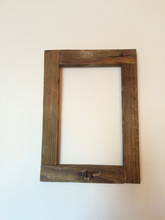 Rustic Lobster Trap Wood Picture Frame Rustic Frame.