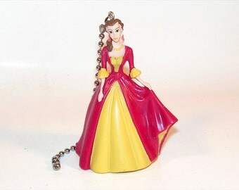 Belle Beauty and the Beast Disney Princess Ceiling Fan Light Pull Chain Girls Room Gift Decor Idea