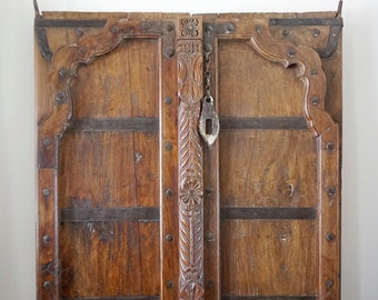 Raj Door / Old Door / Teak / India Style / Shipping Included in the U.S.