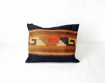 SOUTHWEST navajo PENDLETON woven clutch small purse bag