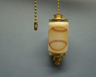 Baseball Fan & Light ceiling fan pull chain, light pull chain