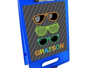 Cool Shades Clipboard Storage Case | Custom Clipboard Storage Case | Plastic Clip Case | School Supplies | Customized School Gear