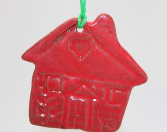 Home Is Where The Heart Is, Holiday House Ornament