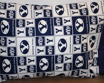 BYU Pillowcase   Toddler/Travel or Standard  Size