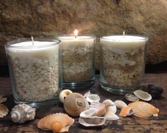 Gifts of the Sea - Hand Crafted Beach Theme Candles - Flat Rate Shipping Now Available!