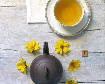 Lively Lemony Mate Tea • 7 oz. Kraft Bag • Loose Leaf Yerba Mate with Lemon, Lemongrass & Orange