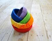 Soft Stacking Nesting Bowl Toys