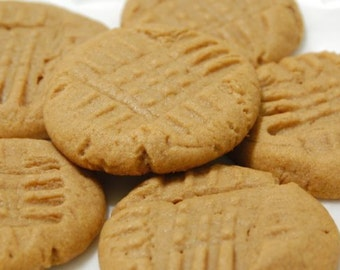 Peanut Butter cookies - Cookies - Desserts - Treats - Wedding Desserts - Party Food - Cookie Tray - Rustic wedding dessert - wedding dessert