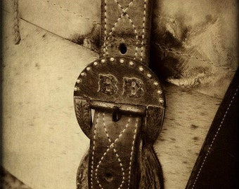 Rustic,Cowboy,Rodeo,Leather,Fine Art Photography Print,Western Home Decor,Southwest Wall Art