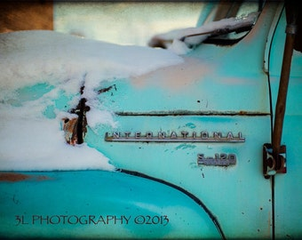 Fine Art Photography-Western Art-Rustic Southwestern Home Decor Vintage Truck