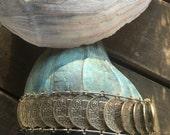 Bracelet Silver Coins Italian Souvenir Bracelet Venice Piazza San Marco Lion Rialto Bridge