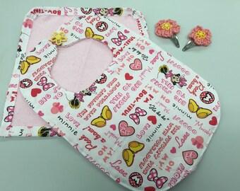 3 Months Up Baby Bib Gift Set_Minie