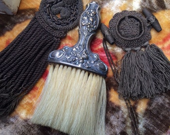 A Gorgeous Art Nouveau Brush That Is Only Good For Looking At