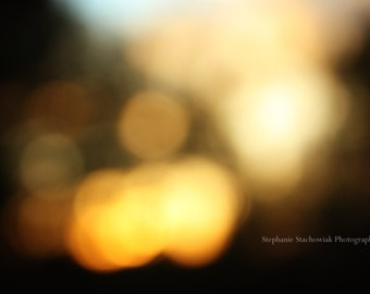 Sunsets in Abstract Series | Sunset, Fine Art Photography, Bown, Yellow, Nature Photography, Print, Canvas Wrap