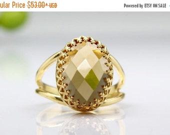 SUMMER SALE - Citrine ring,gemstone ring,November birthstone ring,gold ring,success ring,faith ring,love ring