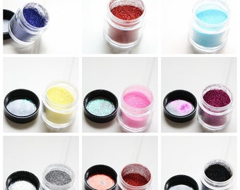 One Bottle of Mixed Glitter for Nail Polish / Nail Art / Sparkling