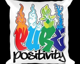 Pure Positivity Designer Throw Pillow