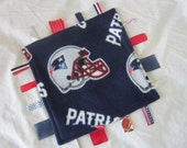New England Patriots ribbon blanket