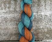 Hand dyed Yarn, Fingering yarn, Hand Painted Yarn, Sock Yarn, Knitting Yarn, Yak/Silk/Merino yarn