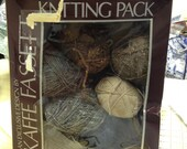 Original Rowan yarns Kaffe Fassett mens sweater kit from the 1980's