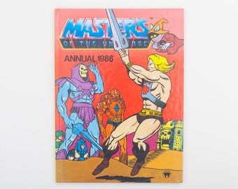 Masters of the Universe Annual 1986 - Vintage He-Man MOTU Annual, published 1985