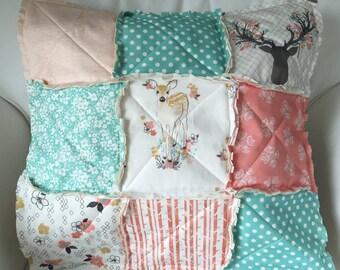 Custom Raggy Pillow Cover Add On