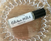 KITCHEN WITCH Premium Artisan Perfume Oil ~ cranberry, sandalwood, sweet vanilla, spices  ~ Free from alcohol, parabens, preservatives