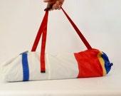Yoga Bag, Yogi Gift, Yoga Mat Bag, Yoga Gym Bag, Yoga Accessories, Yoga Mat Carrier, Yoga Sail Bag, Blue Bag, Red Bag, Yellow Bag (Y8)