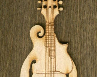 New Stubbies - Mandolin (MC-022) - Laser Cut