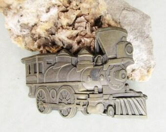 Train Engine Belt Buckle Small Size Child Woman Locomotive Railroad Free US Shipping