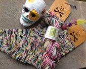Sugar Skull Merino Fingering Yarn