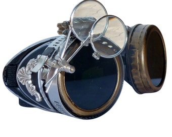 EXPRESS MAIL -- Steampunk GogGLes VicTORian Novelty Glasses cosplay Antique filigree S1