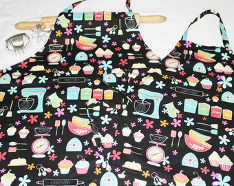 Kitchen Appliances Mother Daughter Aprons