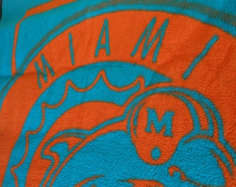 BIEDERLACK Miami Dolphins Throw Blanket