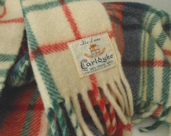 Wool Pram Blanket CARLDYKE Pindyck NY 1950s