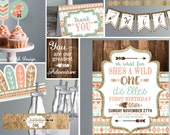 PRIVATE LISTING - Entire Tribal Wild One collection with Photo customization to invite