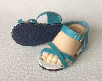 Leatherette Sandal Summer Version for Littlefee Only (BJD)