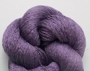Dusk Silk Recycled Cobweb Weight Pure Silk Yarn, 4048 Yards Available