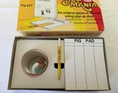 Pig Mania Game From The 70's Complete