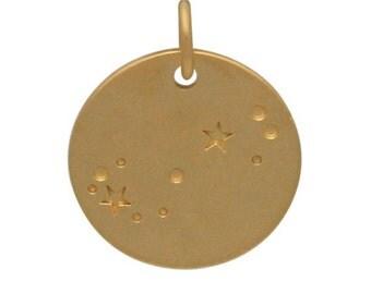 Scorpio Zodiac Constellation - Zodiac Sign Charm - Scorpio Charm